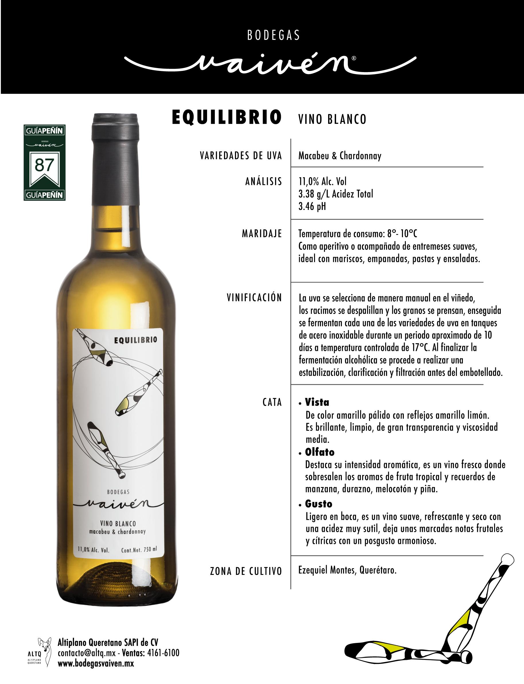 Equilibrio Vino Blanco