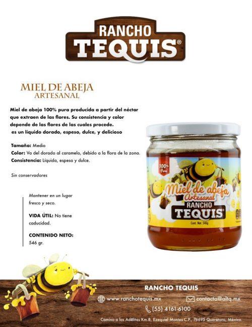 Ficha técnica Miel de abeja