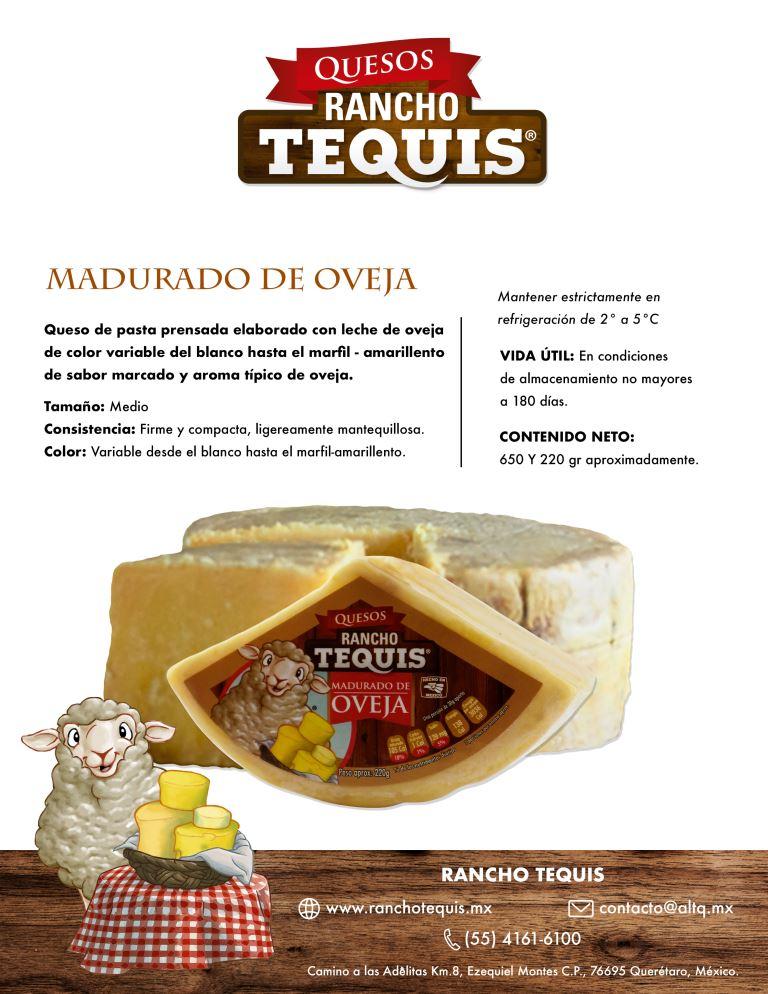 Ficha queso Maduro oveja